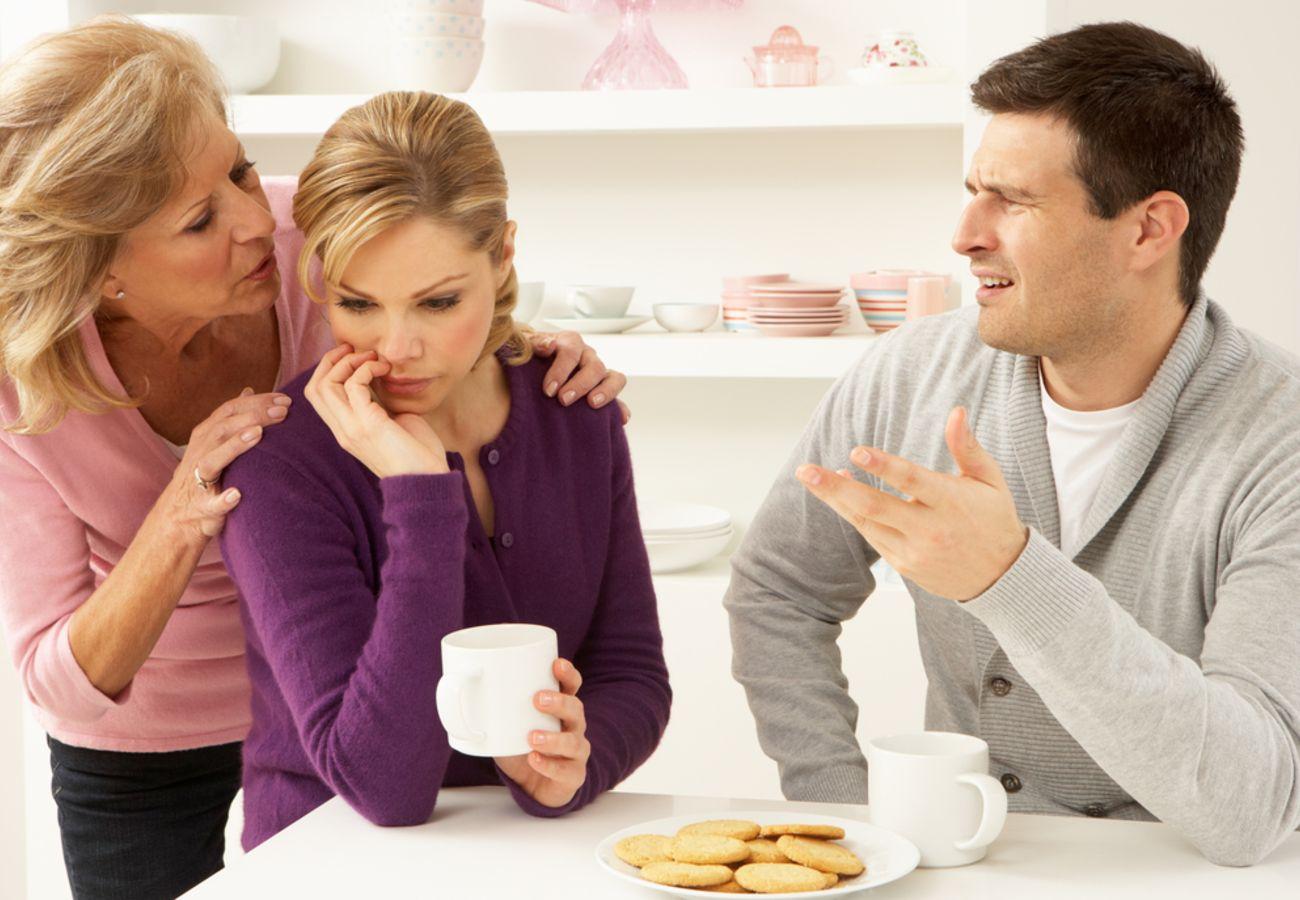 دخالت های خانواده همسر و مدیریت آن